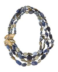 Alexis Bittar - Multicolor Multi-Strand Cluster Necklace - Lyst