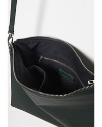 Forever 21 Green Oversized Crossbody Pouch