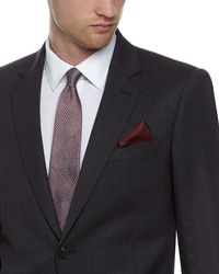 Jaeger - Red Glen Check Tie for Men - Lyst
