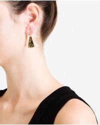 Kimberly Mcdonald - Green 18kt Yellow Apache Gold And Diamond Earrings - Lyst