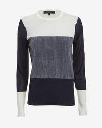 Rag & Bone Multicolor Marissa Long-Sleeve Pullover