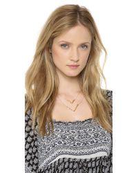 Gorjana | Metallic Vista Layered Necklace Gold | Lyst