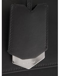 Balenciaga Black Le Dix Cartable M Leather Tote