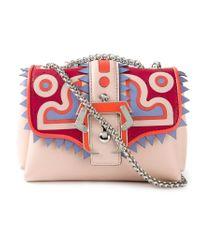 Paula Cademartori Pink 'Kate' Shoulder Bag