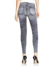 Black Orchid Blue Noah Cropped Super Skinny Jeans In Guilty Pleasure