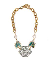 Lulu Frost | Metallic Gold-plated Ortigia Statement Necklace | Lyst