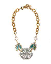 Lulu Frost | Metallic Gold-plated Ortigia Statement Necklace | Lyst