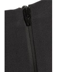 T By Alexander Wang Black Stretch-cady Mini Skirt