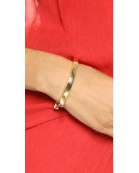 Miansai | Metallic Loren Cuff - Gold | Lyst
