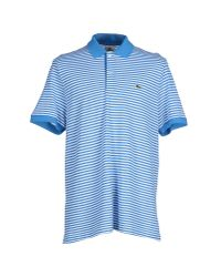 Lacoste - Blue Polo Shirt for Men - Lyst