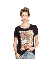 Denim & Supply Ralph Lauren - Black Collage Graphic Tee - Lyst