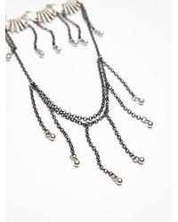 Free People - Metallic Dripping Shells Armband - Lyst