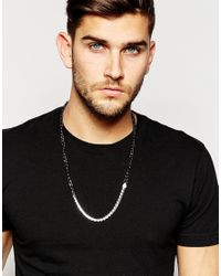 Icon Brand - Metallic Two Nice Necklace for Men - Lyst