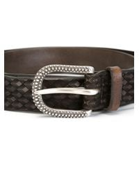 Orciani - Brown Patterned Buckled Belt for Men - Lyst