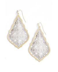 Kendra Scott | Metallic 'mystic Bazaar - Adair' Earrings | Lyst