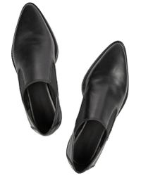Alexander Wang Black Catherine Leather Loafers