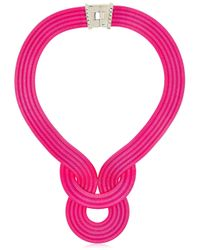Lara Bohinc | Pink Lunar Eclipse Necklace | Lyst