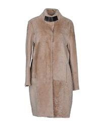DROMe - Natural Fur Outerwear - Lyst
