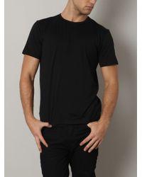 Sunspel - Black Crew Neck T-shirt for Men - Lyst