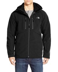 The North Face Black 'storm Peak - Triclimate' Windproof & Water Resistant Hooded 3-in-1 Jacket for men