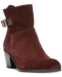 Franco Sarto | Purple Monument Booties | Lyst