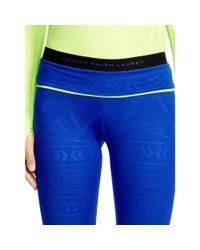 Ralph Lauren | Blue Convertible-waistband Legging | Lyst