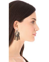 DANNIJO - Metallic Shelton Earrings - Lyst