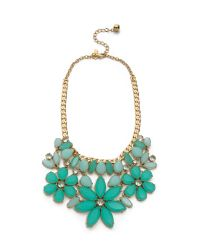 kate spade new york | Green Gardens Of Paris Statement Necklace | Lyst