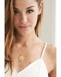 Forever 21 - Metallic Moon And Lola Medium Dalton A Necklace - Lyst