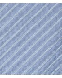 Reiss - Blue Vasto Silk Striped Tie for Men - Lyst