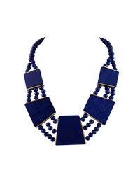 Ziba | Metallic Maivor Statement Necklace | Lyst