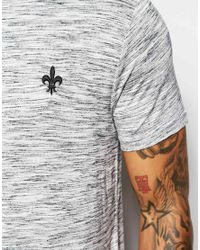 Criminal Damage - Gray Jimmy T-shirt In Nep for Men - Lyst