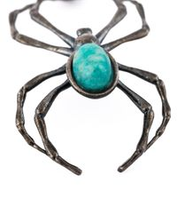 Lanvin | Black Spider Necklace for Men | Lyst