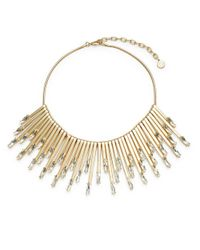R.j. Graziano | Metallic Teardrop Stick Collar Necklace | Lyst