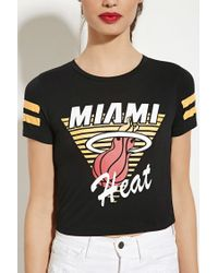 Forever 21 - Black Miami Heat Graphic Tee - Lyst