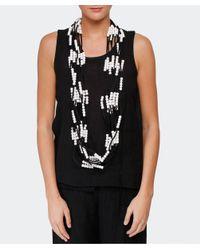 Jianhui - White Textile Multi Strand Necklace - Lyst