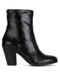 DIESEL - Black 'd-heily' Ankle Boots - Lyst