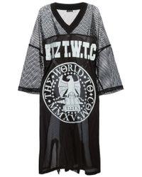KTZ - Black Eagle Print Baseball Shirt for Men - Lyst