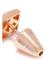 Eddie Borgo | Metallic Pyramid Stud Earrings | Lyst