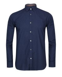 Ted Baker Blue Coolkid Printed Shirt for men