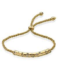 Monica Vinader - Metallic Esencia Scatter Friendship Bracelet - Lyst