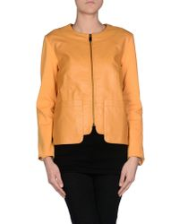 MAX&Co. - Orange Jacket - Lyst
