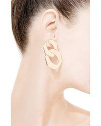 Seaman Schepps - Yellow Drop Link Earrings - Lyst