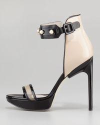 Jason Wu - Black Nadja Pearlystrap Platform Sandal - Lyst