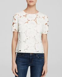 Nanette Lepore White Top - Romance Language