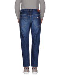People - Blue (+) People Denim Trousers for Men - Lyst