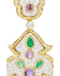 David Webb | Multicolor Amythest Earrings | Lyst
