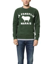 La Panoplie | Green La Sheep Sweatshirt for Men | Lyst