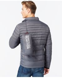 Kenneth Cole | Metallic Quilted Puffer Hipster Jacket for Men | Lyst