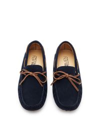 Forever 21 Brown Genuine Suede Driving Loafers for men